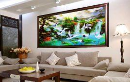 Tranh Phong Thủy Treo Tường Phòng Khách Đẹp Hợp Theo Mệnh Tuổi